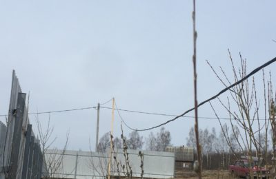 Подключение строительной бытовки КП Свистуха 10.05.2017